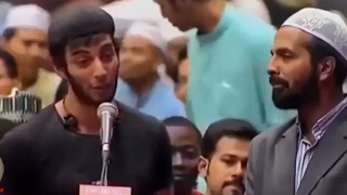 Dr zakir naik urdu english speech 2107  iranian boy claimed islam forced them to be muslim