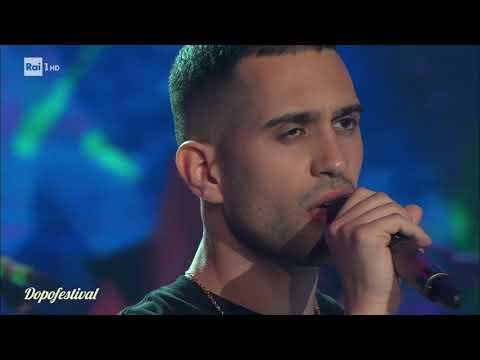 DopoFestival 2019 - Mahmood canta 'Vieni via con me'