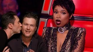 Jennifer Hudson kicked off THE VOICE because ...