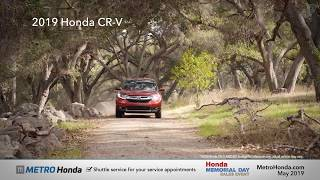 2019 Honda CR-V EX - Metro Honda (Memorial Day Specials)