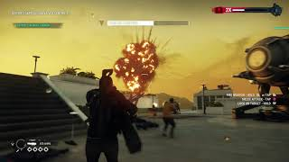 Just Cause 4 - Operation Windwalker: Defend The Wind Cannons on Rooftops With Rebels Gameplay (2018)