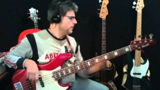 Turn your love around by George Benson personal bassline by Rino Conteduca with bass Mike Lull M5V