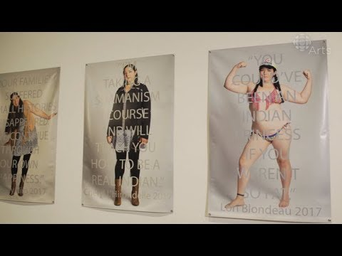 Indigenous artist Ursula Johnson challenges stereotypes in her 'fashion shoots'