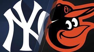 Gray tosses 6 scoreless, Yanks belt 3 homers: 7/11/18