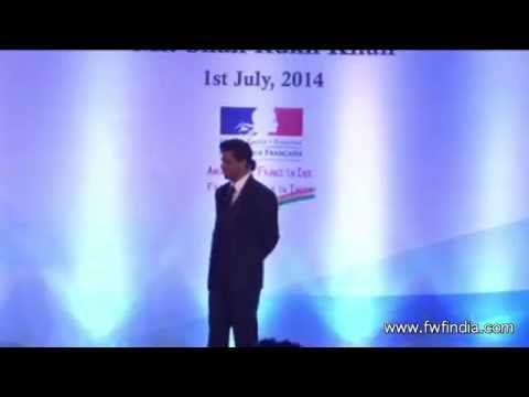 Shah Rukh Khan receives highest French award!