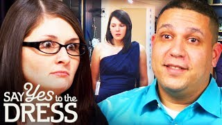 Fight Between a Couple in The Salon | Say Yes To The Dress Bridesmaids