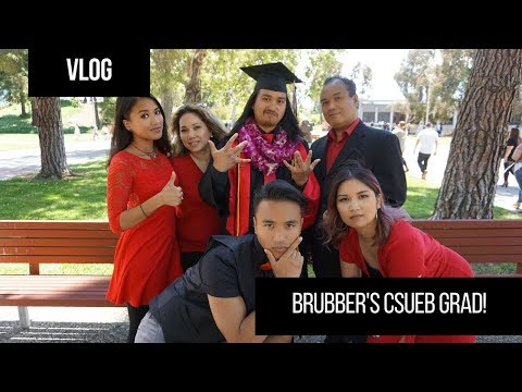 [VLOG] My Brubber Graduates from College!