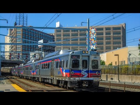 SEPTA Regional Rail Line Rush Hour at North Broad Station