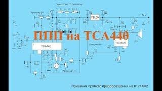 Приемник В.Т. Полякова на К174ХА2 (ТСА440) с варикапами в ГПД