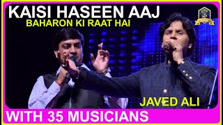 Kaisi Haseen Aaj I Aadmi I Md Rafi I 60's Hindi Songs Live with 30 Musicians  I Javed Ali I Viveck