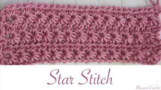 Simple Crochet: Star Stitch (Scarves, blankets etc)