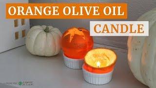 Orange Olive Oil Candle   DIY Holiday Decor   Limoneira