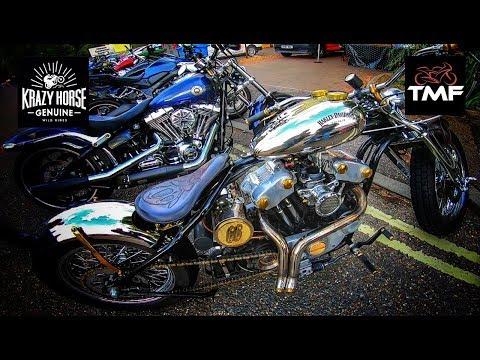 Fabulous Bikers Meet At Krazy Horse Customs In Bury St Edmunds