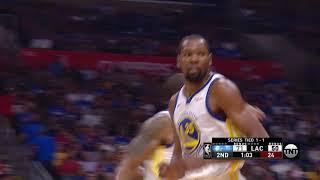 Golden State Warriors vs LA Clippers : April 18, 2019