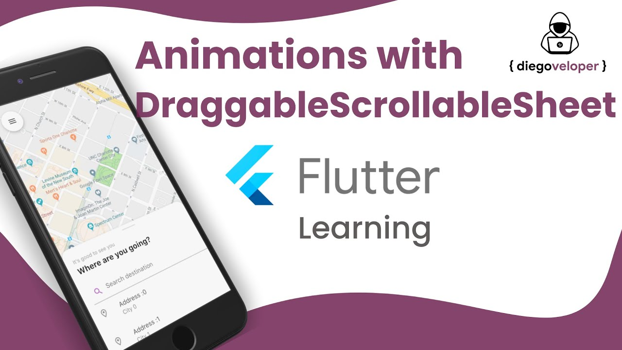 Animations with DraggableScrollableSheet | Flutter Learning