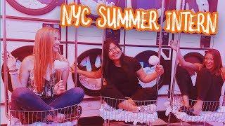 NYC VLOG: Summer Intern Shenanigans + Meeting a Viewer!