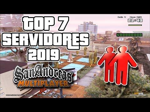 Top 7 - Servidores ''RP'' 2019 - GTA SAN ANDREAS MULTIPLAYER thumbnail