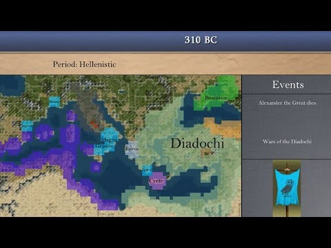 History of Ancient Greece in Civilization IV: Every Year