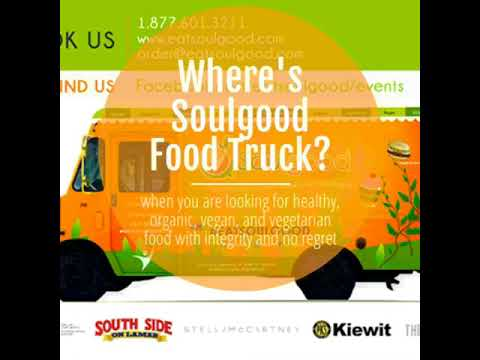 Where's Soulgood Food Truck The Week of 1/21/2019?