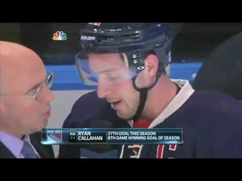 Ryan Callahan: Post Game Interview 3/21/12