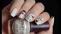 Nail Art | Halloween La Muerte stickers