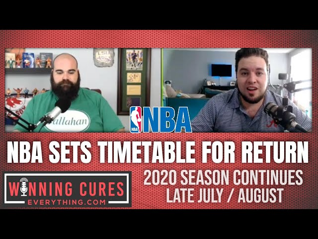 NBA timetable for return to 2020 season - Why so long?