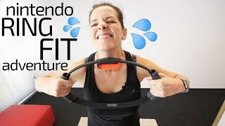 Nintendo Ring Fit Adventure- la Switch es un GIMNASIO multiaventura-