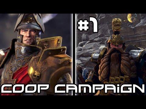 Total War Warhammer Coop Campaign - Human Dwarf Alliance! #1