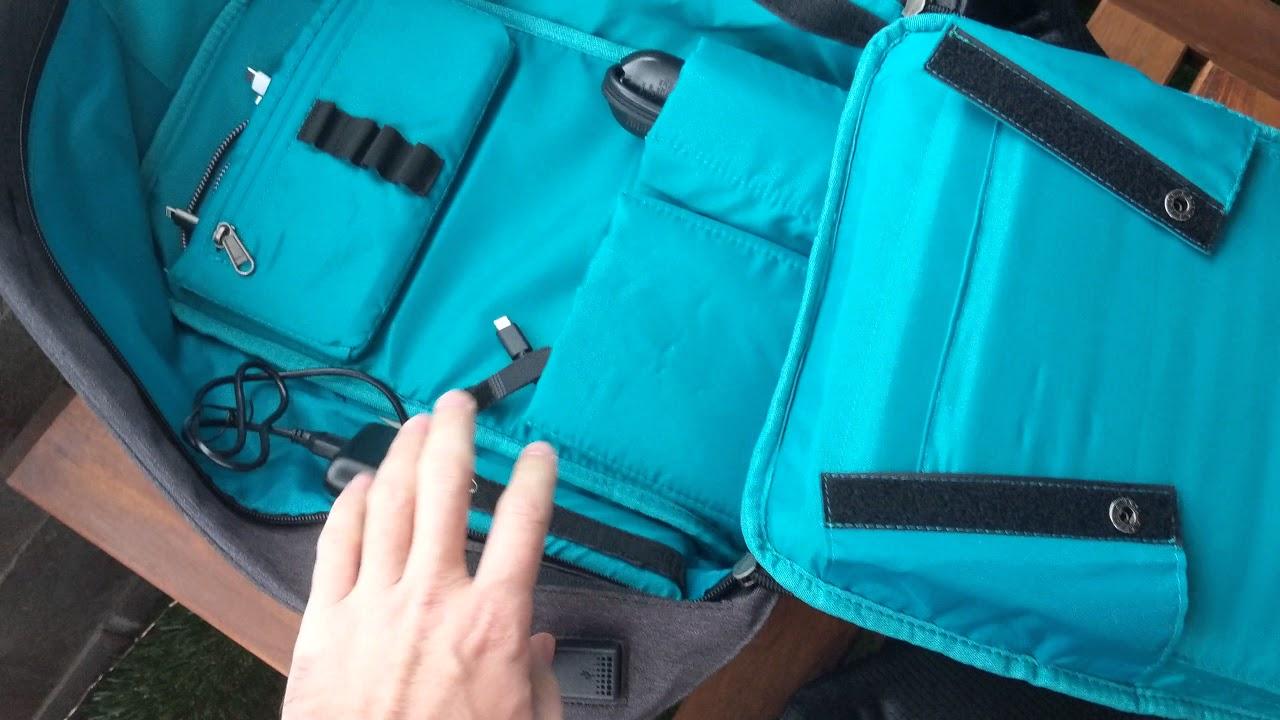 54cfd8c15a Tacode backpack - YouTube