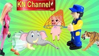 BÚP BÊ KN Channel ĂN BÁNH ĐỘNG VẬT TRONG SỞ THÚ VÀ CÁI KẾT....tập 2
