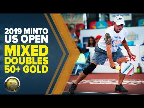 Mixed Doubles 50+ GOLD - 2019 Minto US Open Pickleball Championships