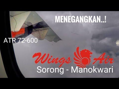 Detik2 Wings Air Menembus Awan Tebal (Sorong-Manokwari)