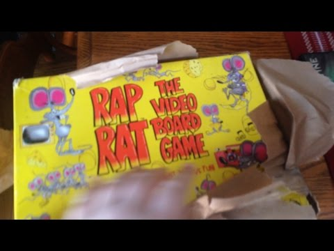 I Got Rap Rat The Video Board Game Vhs Youtube