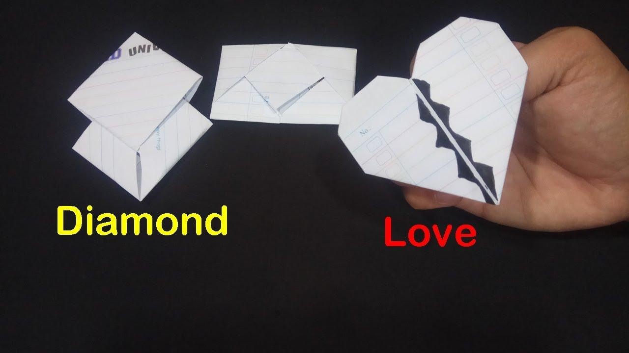 Cara Melipat Surat Ada Bentuk Hati Sampai Surat Resmi