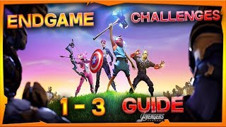 Fortnite x Avengers Endgame Challenges 1 - 3 Guide + Rewards