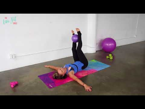 Mini Ball Ab Workout | Exercises with the small exercises ball!