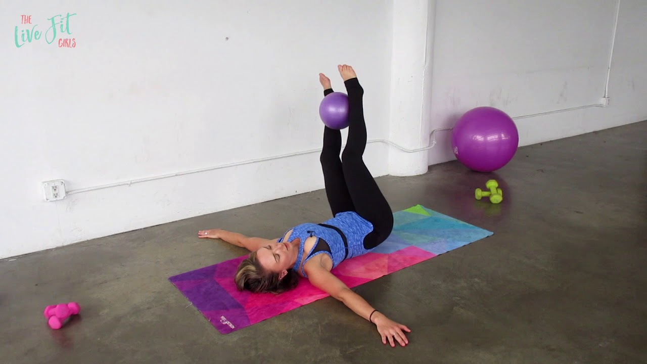 image about Printable Exercise Ball Workouts named Mini Ball Ab Exercise routine Workouts with the reduced workouts ball!