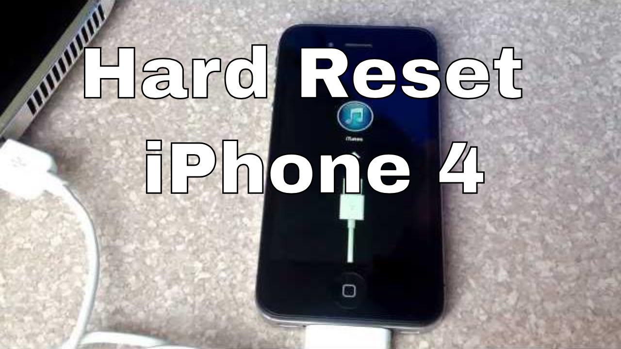 how to hard reset iphone 4 reset iphone 4 18868