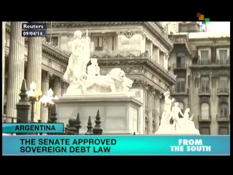 Argentina Senate approves sovereign debt law