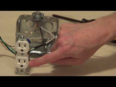 How to Wire a Switched Outlet