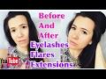 EYELASH extensions FLARES