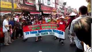 SD Tarakanita Bumijo Pawai Pembangunan DIY 2015