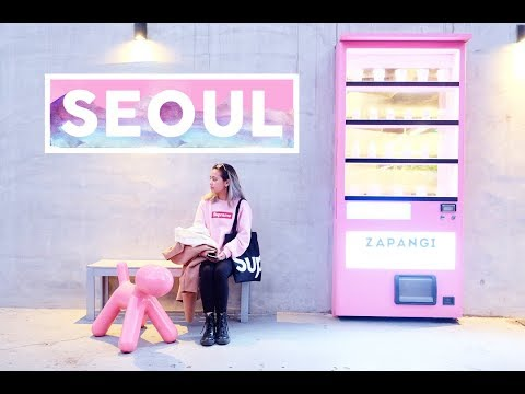 Seoul, South Korea Travel Diary: BTS-Related Places, Pretty Cafes, and Famous Tourist Spots