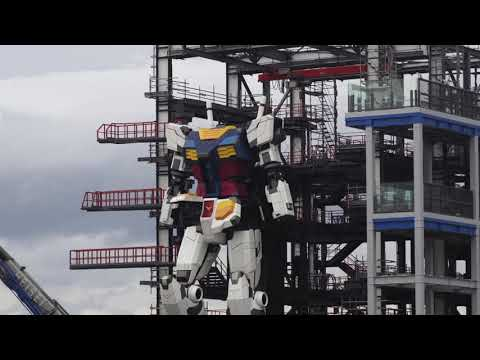 Watch Engineers Take Their 60-Foot-Tall Gundam for a Walk