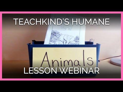 TeachKind's Humane Lesson Webinar