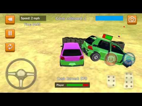 Car Crash Demolition Arena By Gamonaut 3d Games And