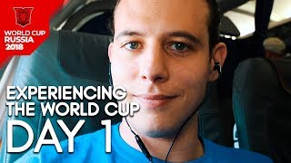 Experiencing the World Cup Day 1