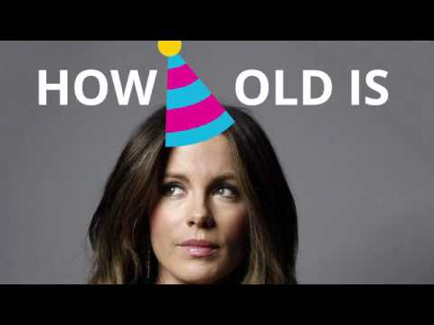 How old is Kate Beckinsale? 🍰🎈