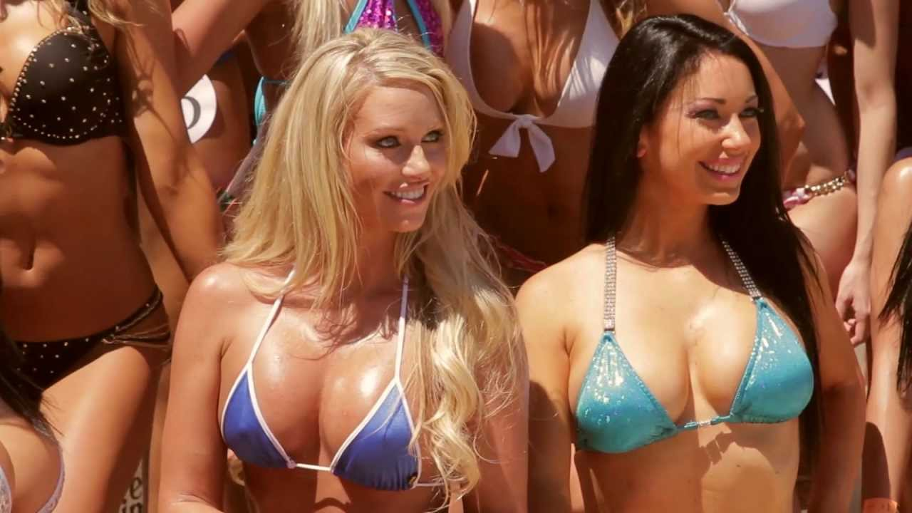 bikini contest girls Hot