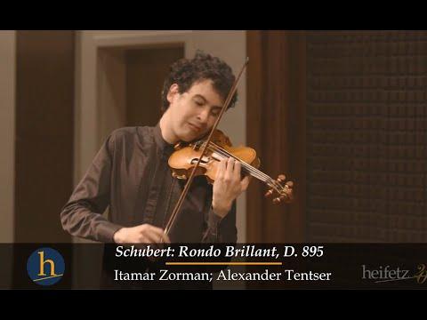 Heifetz 2016: Itamar Zorman | Schubert: Rondo Brillant, D. 895